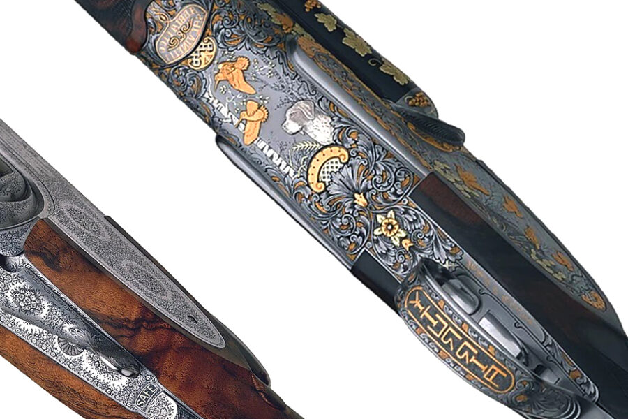 Custom rifles engraved by hand | PMP Armi S.r.l. by Paolo Peli